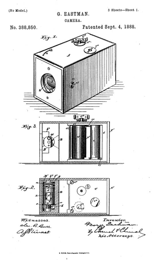 George_Eastman_patent_no_388,850
